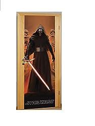 Elbenwald Star Wars 7 Kylo Ren Türspanner 70x200cm schwarz