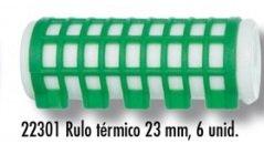 Asuer Rulos Térmicos Calientes 23mm 6uds