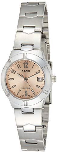 Casio Enticer Analog Beige Dial Women's Watch - LTP-1241D-4A3DF (A851)