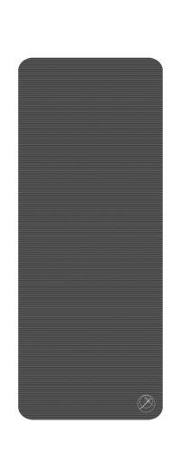 Trendy 1016639 ProfiGymMat 190 mit Ösen 1,5 cm, Anthrazit
