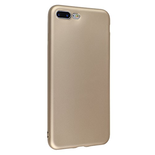Coque iPhone 7, Rosa Schleife Ultra Mince Fini Mat Coque Premium TPU Etui Silicone Plating Bumper Antichoc Matte Case pour Apple iPhone 7 Or