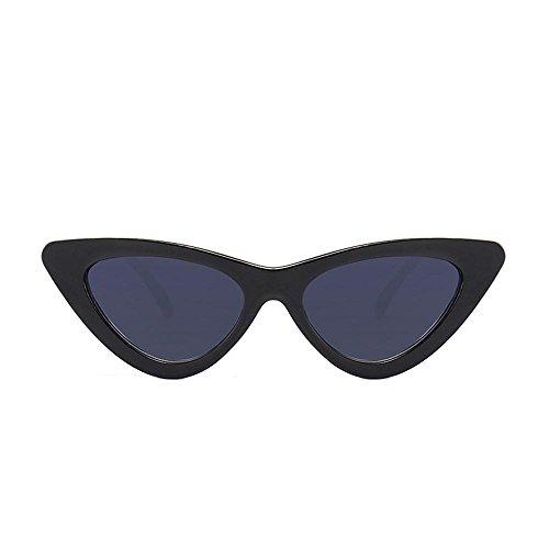 Logobeing Gafas de Sol De Ojos de Gato,Moda Chic Super Cat Eye Gafas de Sol Mujer Vintage Retro Eyewear (J)