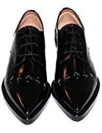 Twin Set - Zapatos de Cordones de Piel Para Mujer