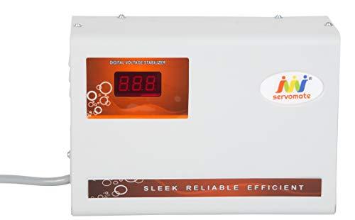 Servomate 5 KVA Automatic Stabilizer for 2 Ton AC (150v-280v) 100% Copper