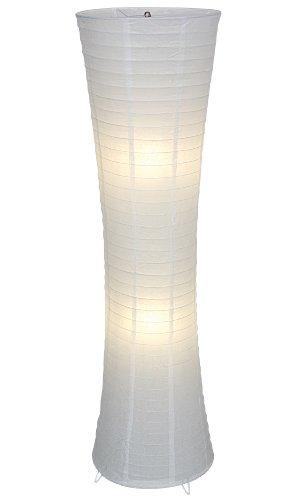 Dreams4Home Seoul - Lámpara de pie (estructura de metal recubierta de papel, 30 x