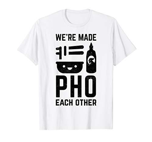 Kostüm Asiatische Paare - Vietnamesisch Pho Lustiges Hemd Für Paare Asiatisches Essen T-Shirt