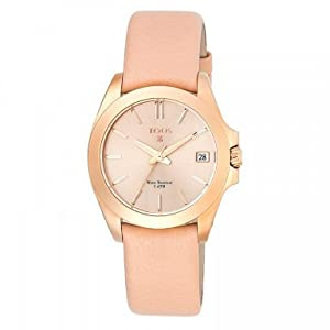 TOUS DRIVE 34MM IP ROSE CORREA NUDE