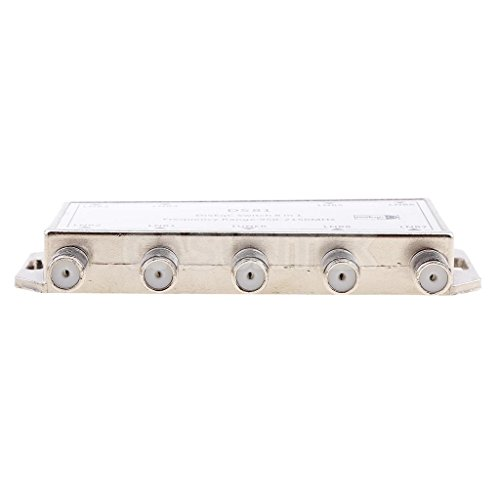 ELECTROPRIME® 8X1 Satellite Multi Switch 8 in 1 DiSEqC Switch FTA Dish LNB LNBF