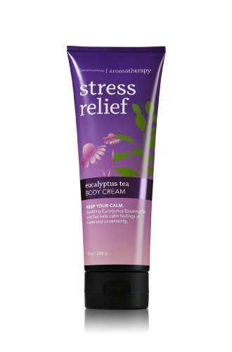 Bath-Body-Works-Aromatherapy-Stress-Relief-Eucalyptus-Tea-Body-Cream-8-oz-226-g