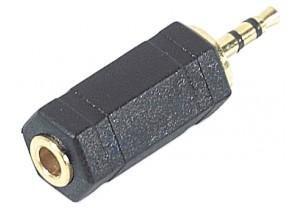 CABLING® Adaptateur jack 2.5 mâle vers jack 3.5 femelle pour brancher casque audio au format 3,5 Jack