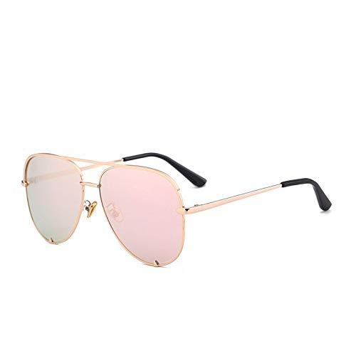 SNXIHES Sonnenbrillen Rosa Sonnenbrille Silber Spiegel Metall Sonnenbrille Pilot Sonnenbrille Frauen Männer Shades Top Fashion Brillen 5