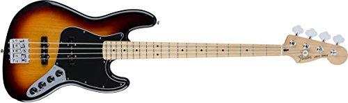 Fender 0143512300Deluxe Active Jazz Bass Ahorn Griffbrett 3Color Sunburst E-Gitarre