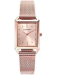 44d4b48a7b9b Viceroy Reloj Analogico para Mujer de Cuarzo con Correa en Acero Inoxidable  471130-97