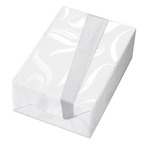 Geschenkpapier Hochzeit, 3 Rollen, perlglanz-Ornamente mit Fond in Matt-Weiß. Rückseite Silber. Für Weihnachten, Taufe, Konfirmation, Kommunion, Geburtstag. Weihnachtsgeschenkpapier. (Hochzeit, Geschenkpapier)