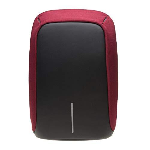 XD Design Unisex Bobby Original Anti-Diebstahl Laptop Rucksack Rot mit USB