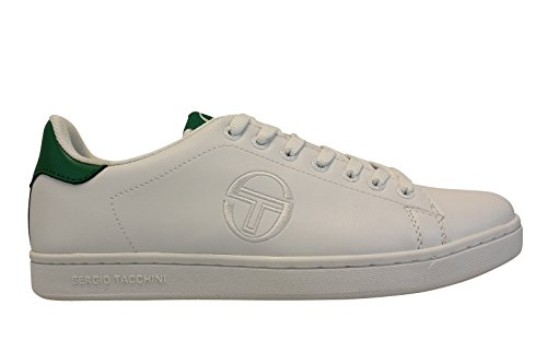 hot sale online 8ad6c 77629 SERGIO TACCHINI Baskets Gran Torino Chaussures Homme 40) Blanc