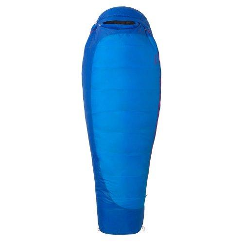 Marmot Trestles 15 Sleeping Bag Long Women Ceylon Blue/Lapis Ausführung rechts 2016 Mumienschlafsack