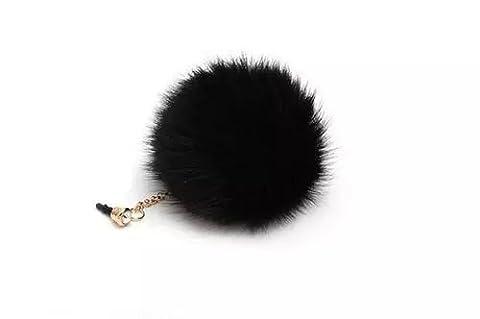 Vandot Pompon Ball Anti Dust Plug Earphone Cap Jack Headphone