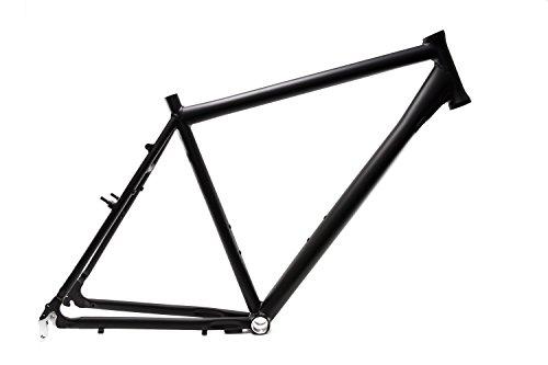 """28\"""" Zoll Alu Fahrrad Rahmen Herren Trekking Bike Rh 55cm A head schwarz matt"""