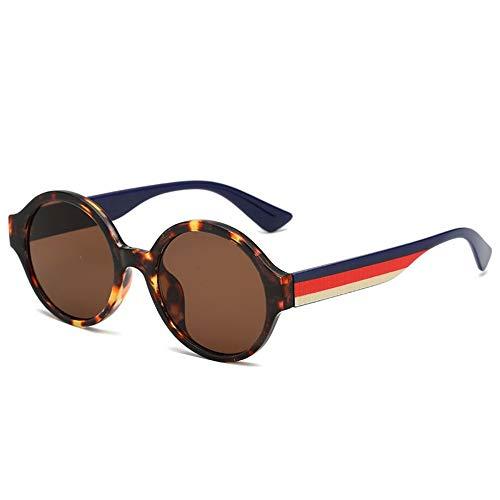 Sonnenbrille Neue Kinder Sonnenbrille Runde Vintage Baby 6-15 Jahre Jungen & Mädchen Gläser Mit Weitem Bein Cute Strert Cool Kind Brille Brillen Braun