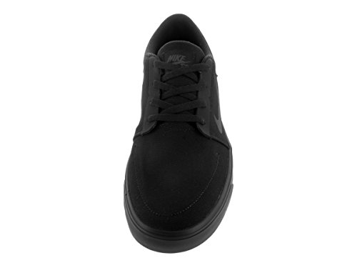 Nike Herren Sb Portmore Cnvs Skaterschuhe Schwarz / Anthrazit