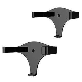 Solide Metall Wandhalterung Ständer Halter Ständer Halterung Echo Dot 2. Generation (Schwarz 2)