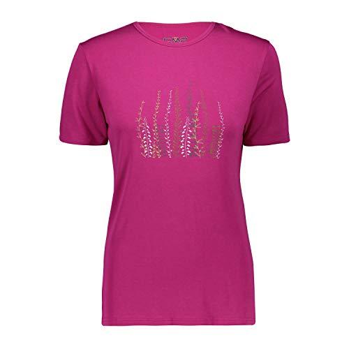 CMP Damen T-Shirt Woman T-Shirt 38T6436 Geraneo 40 -
