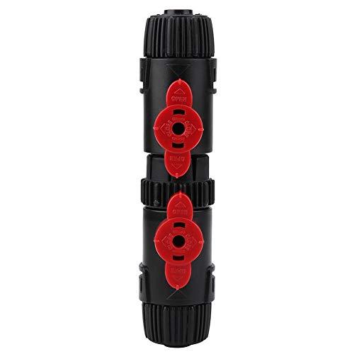 HEEPDD Aquarium Wasser durchfluss regelventil, Aquarium Schlauch Schnellverschluss Aquarien Filter Kunststoff Stecker (12-16mm / 16-22mm)(12-16mm) -