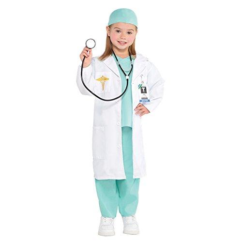 Doktor Arzt Kinderkostüm Amscan