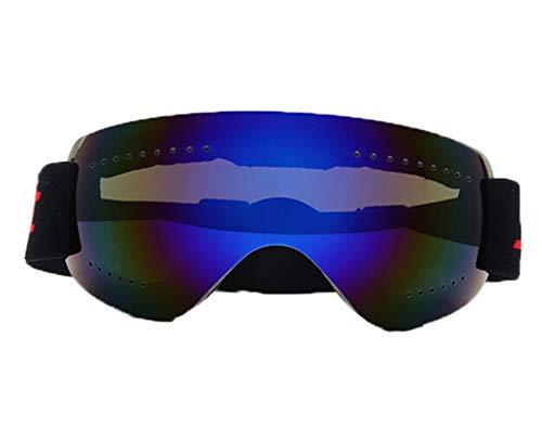 Sportsonnenbrille Damen Damen Herren Skibrille Anti Fog Und Sanddichtes Motorrad Langlauf Brille Männer Und Frauen Erwachsene Schneebrille Klettern Blau