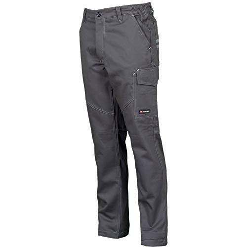 Payper - pantalone da lavoro worker. col. blu royal - smoke (smoke, s)