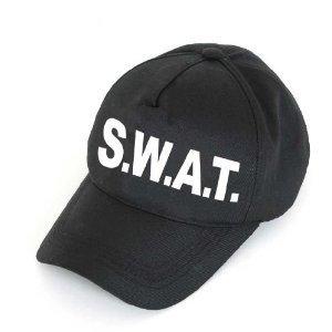 S.W.A.T Cap SWAT Basecap Mütze Größe (Kostüm Swat Hut)