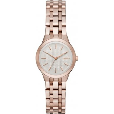 dkny-womens-28mm-rose-gold-tone-steel-bracelet-case-quartz-silver-tone-dial-analog-watch-ny2492
