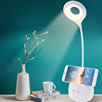PaxMore Rechargeable LED Touch On/Off Switch Desk Lamp Children Eye Protection Student Study Reading Dimmer Rechargeable…