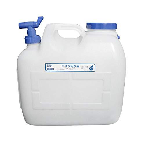 Sroomcla Plastikeimer Dicker PC Wassertank Abfluss Wasserhahn Fest Camping Reservoir Lebensmittelqualität Tragbare Mineralnahrung