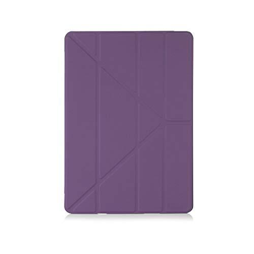 PIPETTO - Funda para iPad Pro 12.9, diseño de Origami, Color Morado