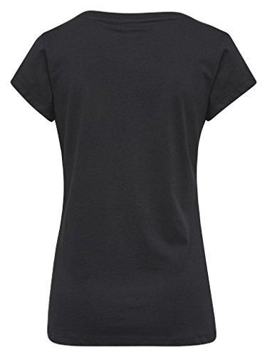 Hummel Damen T-Shirt Fiorella SS Tee 19426 Black