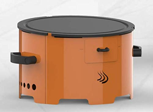 Apache Barbecue Grill a Pellet Portatile da Giardino terrazzo Campeggio