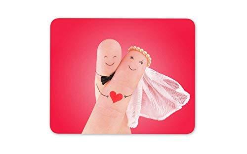 Entzückende Braut und Bräutigam Mauspad Pad - Lustige Hochzeit Geschenk-Computer-# 8675