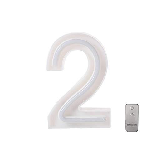 fang FANS LED Buchstabe Lichter Alphabet, LED Brief Licht, Led Dekoration für Geburtstag Party Hochzeit & Urlaub Haus Bar Light Box 24 Buchstaben,10 arabische Ziffern LED für Party und Haus Deko (2)