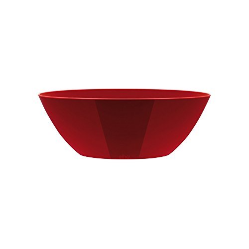 Elho Brussels Pot ovale diamanté Rouge 36 cm