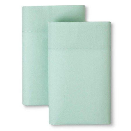 Room Essentials Kissenbezug-Set, pflegeleicht, für King-Size-Betten, Virescent Green