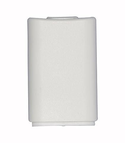 Timorn Ersatz Batterieabdeckung für Microsoft Xbox 360 Wireless Controller (Weiß
