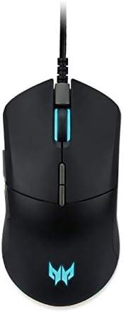 Acer Predator Cestus 330 Wired Gaming Mouse (Pixart 3335 Sensor/16000 dpi/7 Programmable Buttons/Black)