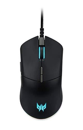 Acer Predator Cestus 330 - Gaming Maus (mit 7 programmierbaren Tasten) 16,000 DPI Bewegungsauflösung, schwarz