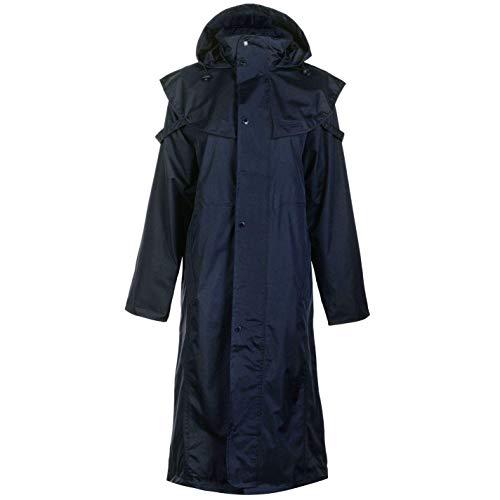 Requisite Cape Mantel Damen Reiter Reitjacke Oberbekleidung - Blau, UK 8 (Xs)