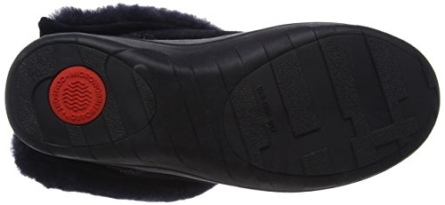 Fitflop Mukluk Shorty 2 Boots, Stivaletti Donna Blu (Supernavy)
