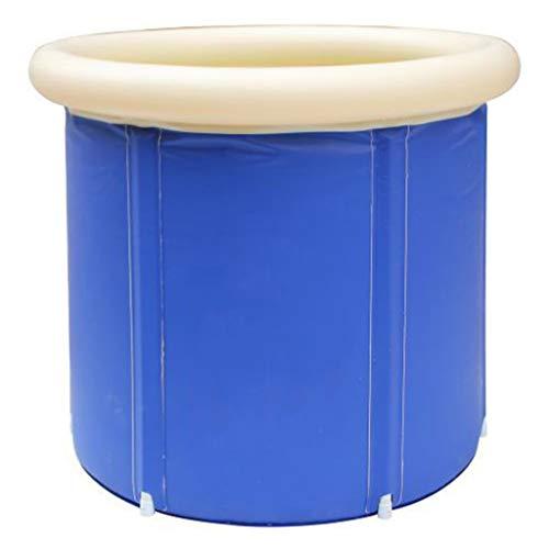 JYLJL Bañera Plegable Puede Ser Doblada Plegable Baño Barriles Bañera Adulto Espesamiento...