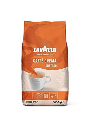 Lavazza Kaffeebohnen,Caffè Crema Gustoso, 1er Pack (1 x 1 kg)