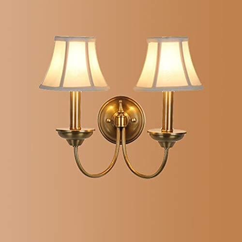 GCCI Mode Alle Messing Nachttischlampe Einfache Spiegel Frontleuchten Einzigartige Leuchtturm Lounge Persönlichkeit,B -